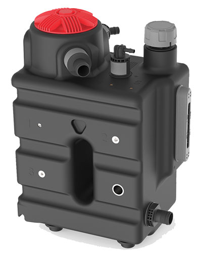 The HIT takes advantage of the Quick-Connect-System that allows for fast, correct and safe hose mounting without tools.